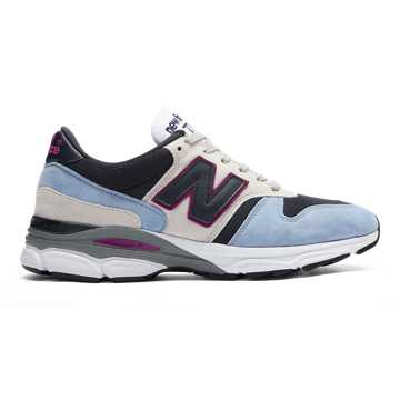 New Balance Made in UK 770.9, Air with Dark Navy & White