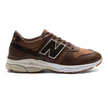 New Balance 770.9 Made in UK, Brown with Pale Brown