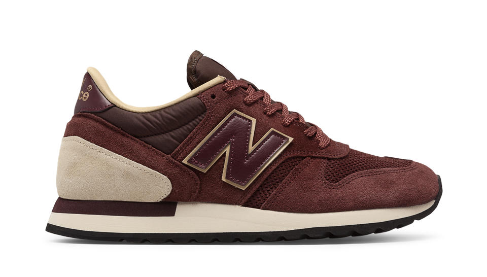 new balance brown suede