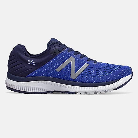 New Balance 860 V10系列男款跑步运动鞋, M860B10
