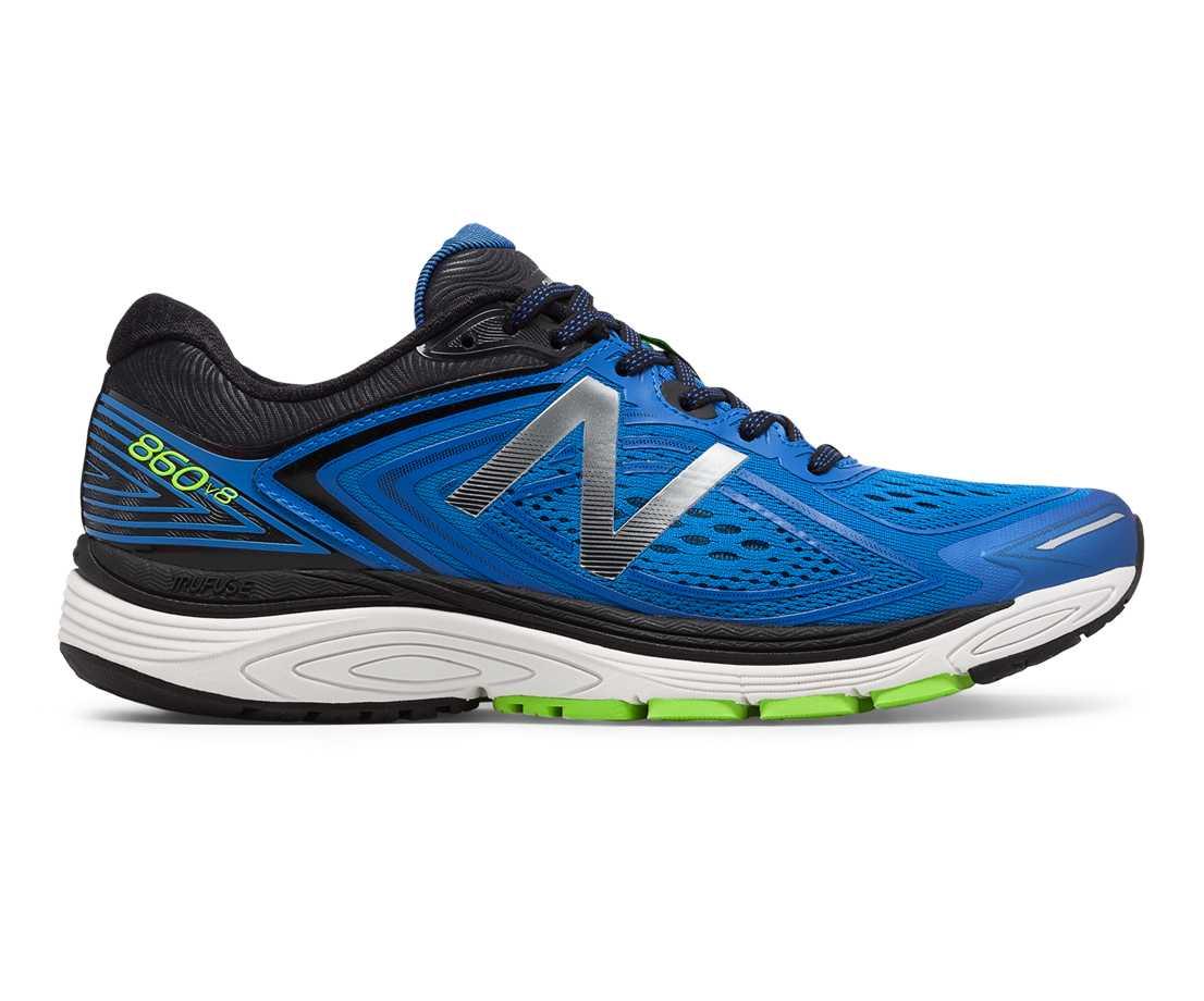 NB 860v8, Vivid Cobalt Blue with Energy Lime & Black