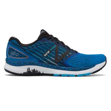 New Balance 860v9 NYC Marathon, Laser Blue with Polaris