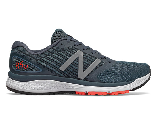 new balance chaussures de running 860 homme blue white