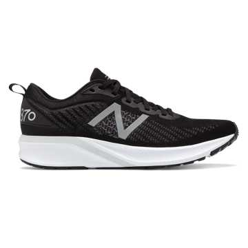 New Balance 870v5, Black with White & Orca