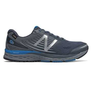 New Balance 880v8 GTX, Thunder with Laser Blue