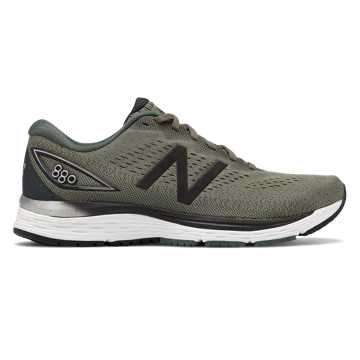 New Balance 880v9, Mineral Green with Black