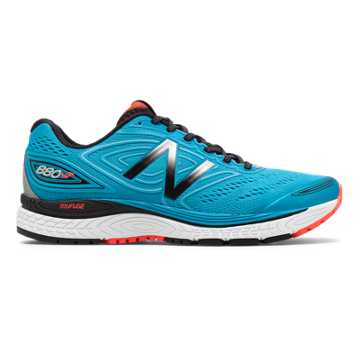 New Balance 880v7 NYC Marathon, Maldives Blue with Black & Flame