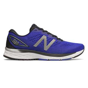 New Balance 880v9, UV Blue with Black & Silver Metallic