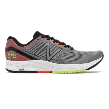 New Balance 890v6, Grey with Flame