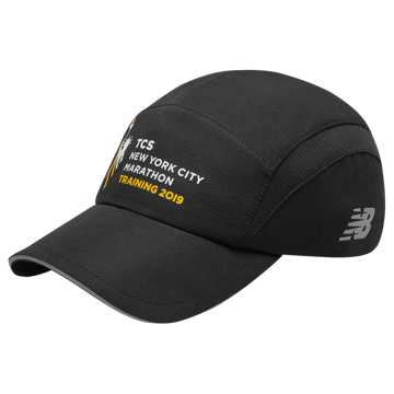 New Balance TCS NYC Marathon Training Hat, Black