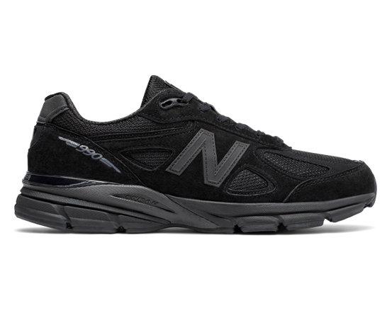 Suède 990v4 Et Chaussures De Sport - Maille Nouvel Équilibre Noir qVCfEzku