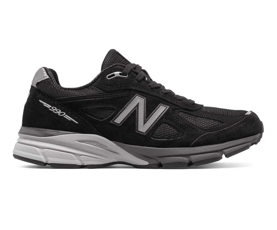 NB 990v4 Made in US, Black with Silver