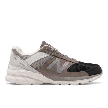 New Balance Made in US 990v5, Black with Marblehead