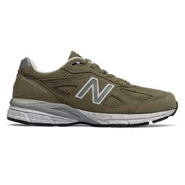 New Balance Mens 990v4 Made in US, Covert Green