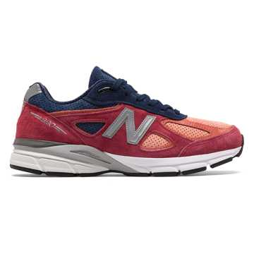 New Balance Mens 990v4 Made in US, Copper Rose with Pigment