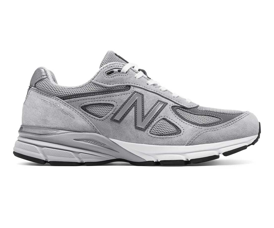 NB 990v4 Made in US, Grey with Castlerock