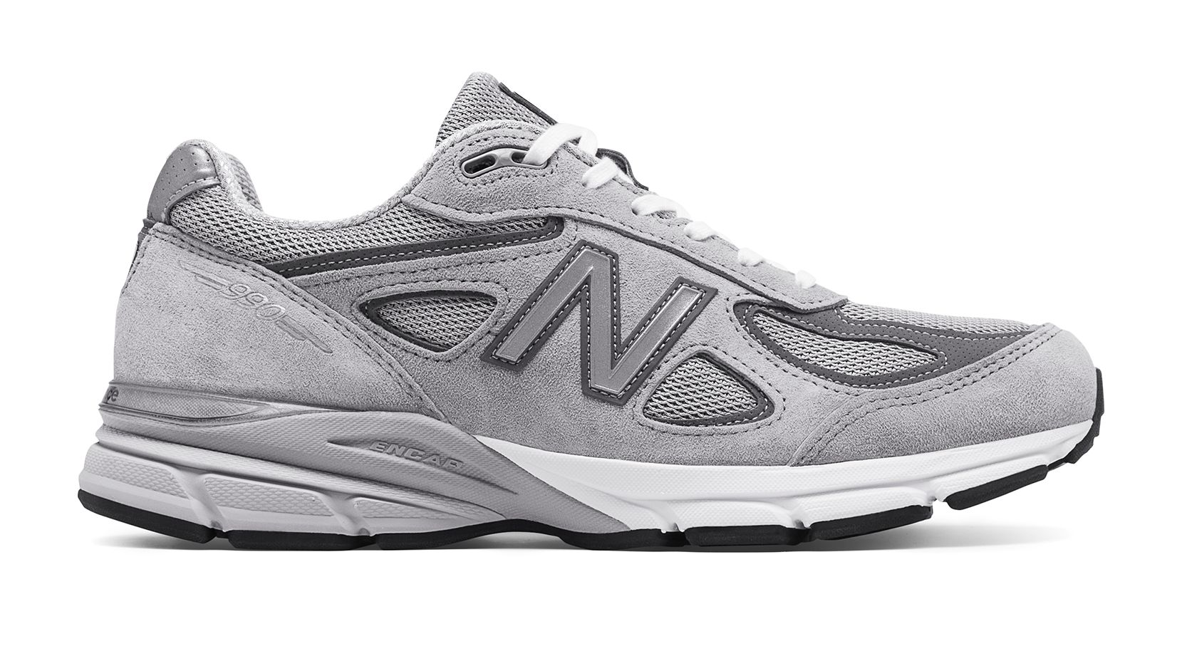 New Balance 990v4 Made in US, Grey with Castlerock