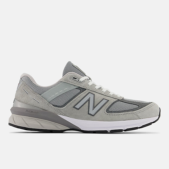 New Balance 990V5美国原产男款猪皮革复古运动鞋, M990GL5