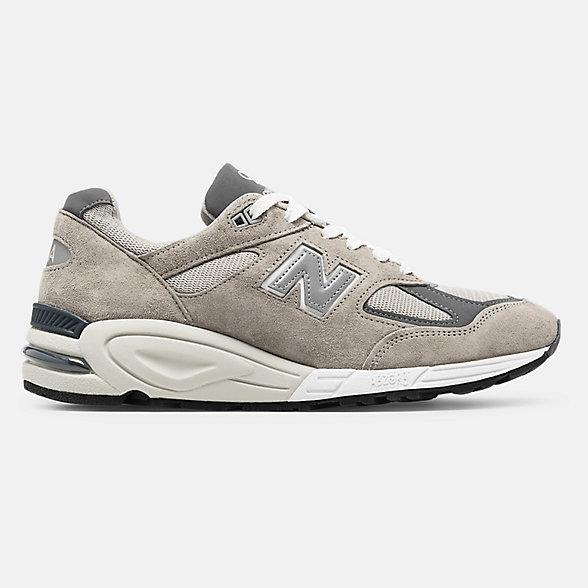 New Balance 美国原产990V2男女同款复古休闲鞋, M990GR2