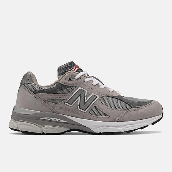 New Balance 美国原产990V3 男女同款复古休闲鞋, M990GY3