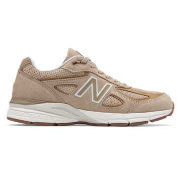 New Balance Mens 990v4 Made in US, Hemp with Linseed