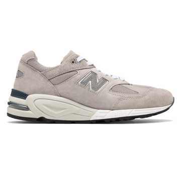 New Balance Made in USA 990, Grey with White