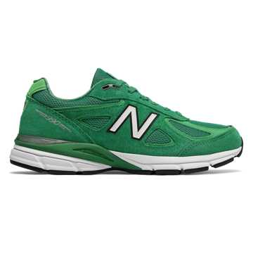 New Balance Mens New Balance 990v4, Green