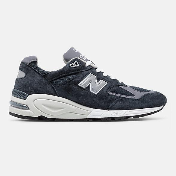 New Balance 美国原产990V2男女同款复古休闲鞋, M990NV2