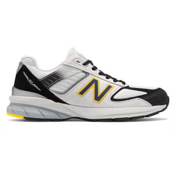 New Balance Made in US 990v5, Silver with Black