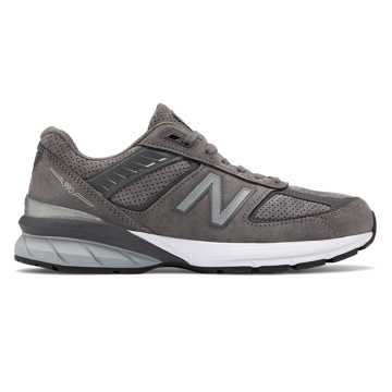 New Balance Made in US 990v5, Castlerock with Magnet & White