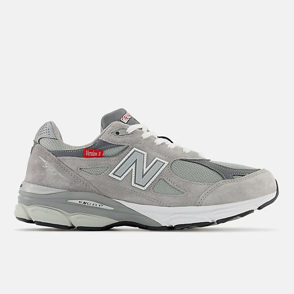 New Balance Version Series 990V3 男款复古休闲鞋, M990VS3