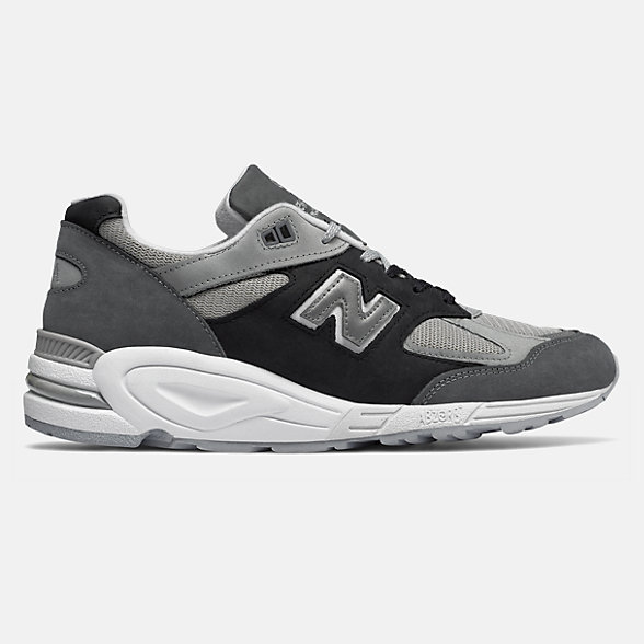 New Balance 990V2美国原产男女同款复古休闲鞋, M990XG2