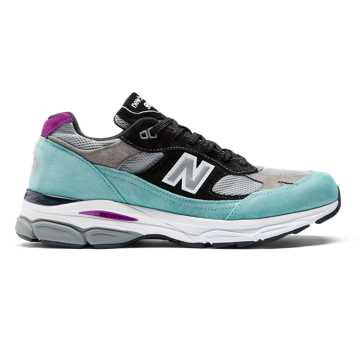 New Balance 991.9 Made in UK, Light Tidepool with Grey & Black