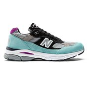 reputable site eac7e 3174a New Balance 991.9 Made in UK, Light Tidepool with Grey   Black