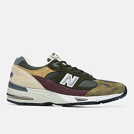 NB MADE in UK 991, M991GYB image number null