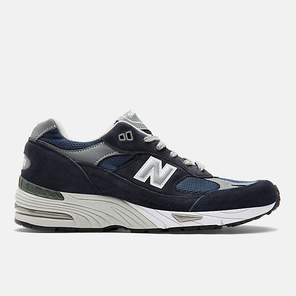 NB Made in UK 991 Leather, M991NV