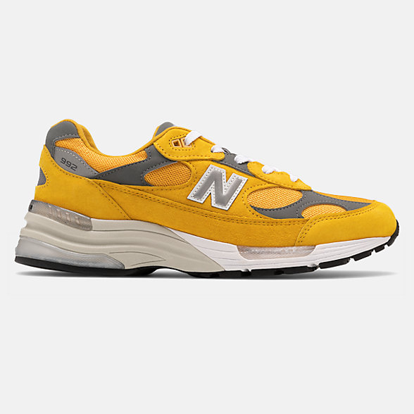New Balance 美国原产992系列男女同款复古休闲鞋, M992BB
