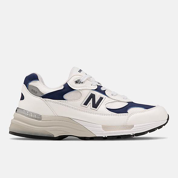 New Balance 美国原产992系列男女同款复古休闲鞋, M992EC