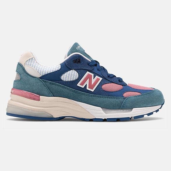 New Balance 美国原产992系列男女同款复古休闲鞋, M992NT