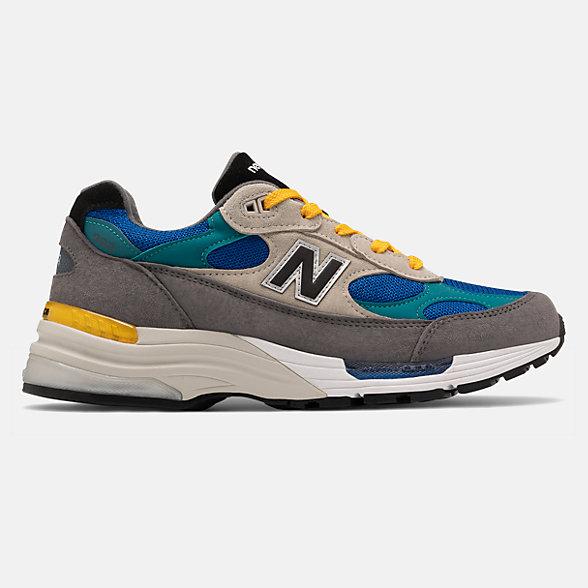 New Balance 美国原产992系列男女同款复古休闲鞋, M992RR
