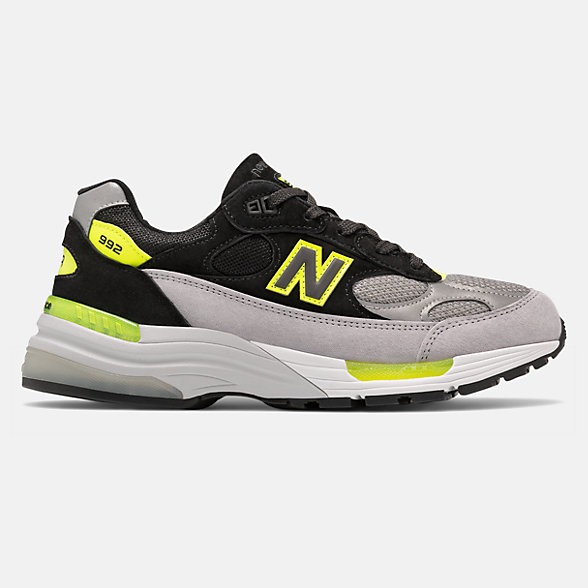 New Balance 美国原产992系列男女同款复古休闲鞋, M992TQ