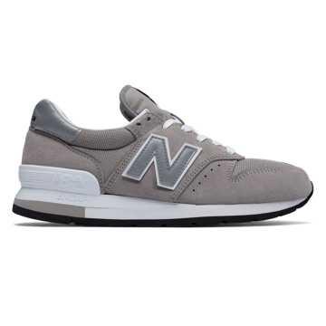 New Balance 美国原产995中性复古休闲运动鞋 避震稳定 潮流经典, 元祖灰