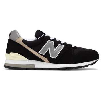 New Balance Made in US 996, Black with Grey
