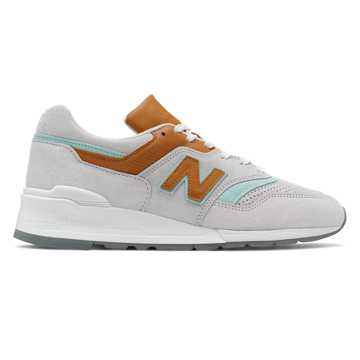 New Balance Made in US 997, Nimbus Cloud with Light Reef