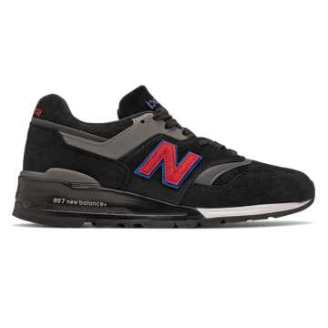 New Balance Made in US 997, Black with Red
