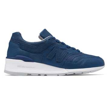 New Balance 997 Bison Made in US, Blue with Grey