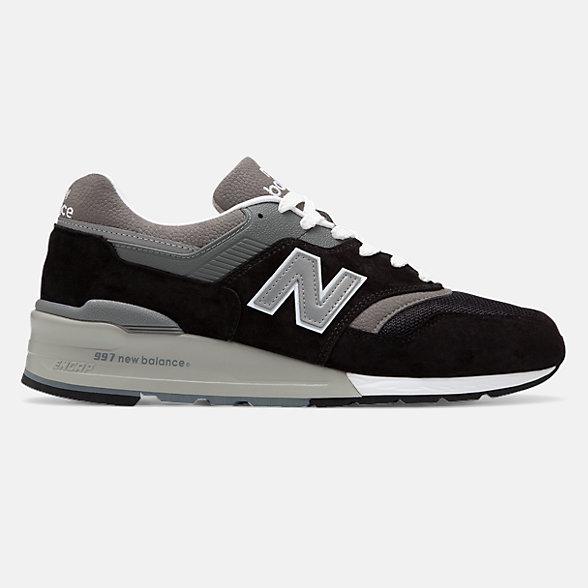 New Balance 美国原产997男女同款复古休闲运动鞋, M997BK