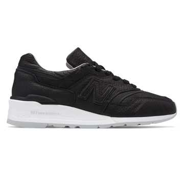 New Balance Made in US 997 Bison, Black with Grey