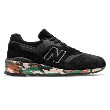 official photos b1a8c 00ddb New Balance 997 Made in US, Black with Silver