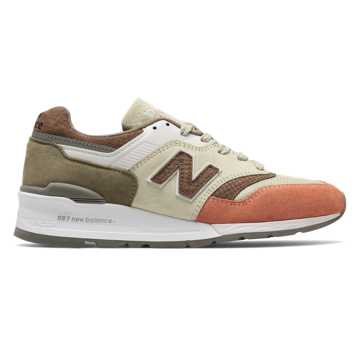 New Balance 997 Desert Heat, Bone with Apricot